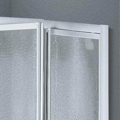 Porta doccia europa 2 ante a battente piumato bianco 72 78 - Porta doccia leroy merlin ...