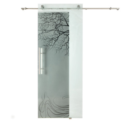 Credenza bassa shabby con ante scorrevoli - Porta vetro scorrevole leroy merlin ...
