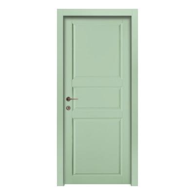 Porta da interno battente new york green verde 80 x h 210 cm sx prezzi e offerte online - Offerte porte da interno ...