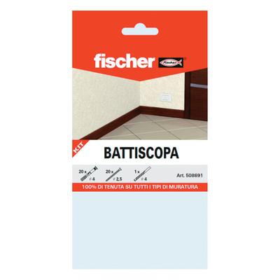 Kit soluzione fischer battiscopa prezzi e offerte online for Battiscopa leroy merlin