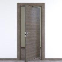 Porta da interno rototraslante Starwood pietra 80 x H 210 cm dx