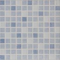 Mosaico Luminor 20 x 20 cm blu