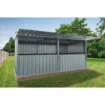 chiosco in metallo Daikiri c/mensole 12,7 m², 2 ribalte