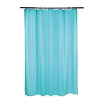 Tenda doccia Happy azzurra L 180 x H 200 cm