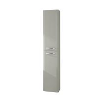 Colonna Best grigio chiaro 2 ante L 30 x H 160 x P 27 cm