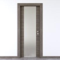 Porta da interno battente Starwood pietra 80 x H 210 cm sx