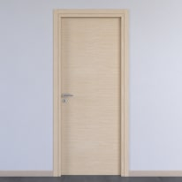 Porta da interno battente Spring rovere chiaro 70 x H 210 cm reversibile