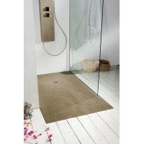 Piatto doccia resina Forest 80 x 80 cm olmo