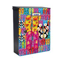 Cover per cassetta pesonalizzabile Mia Ciabatte, formato rivista, L 27 x H 37 x P  0,5 cm