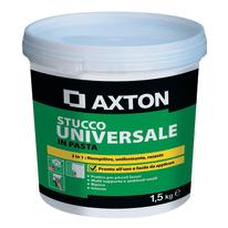 Stucco in pasta Axton Universale liscio bianco 1,5 kg
