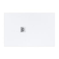 Piatto doccia resina Logic 90 x 80 cm bianco