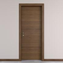 Porta da interno battente Stenophylla cacao 90 x H 210 cm reversibile