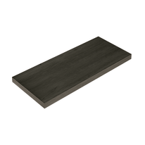 Mensola Spaceo rovere scuro L 56 x P 23,7, sp 2,2 cm