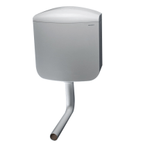 Cassetta WC da esterno Geberit AP 117 doppio tasto