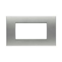 Placca 4 moduli BTicino Livinglight tech