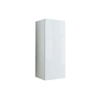 Pensile Elise bianco 1 anta L 30 x H 74 x P 27 cm