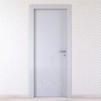 Porta da interno battente Dwarf silk 70 x H 210 cm sx