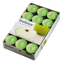 Tealight confezione 30 pezzi essenza mela verde