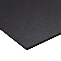 Lastra PVC espanso nero 1000 x 1000  mm, spessore 3 mm