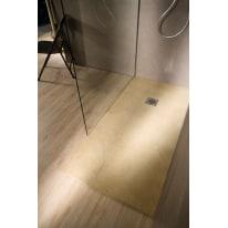 Piatto doccia resina Elements 195 x 90 cm argilla