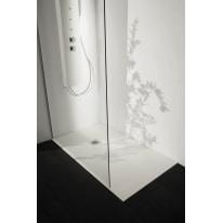 Piatto doccia resina Liso 100 x 70 cm bianco