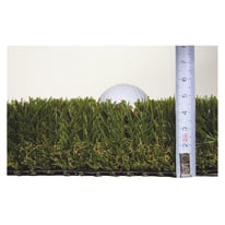 Erba sintetica pretagliata Premium L 0,2 x H  2 m, spessore 50 mm
