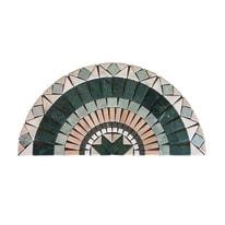 Composizione decorativa Ventaglio Brindisi multicolor 45 x 90 cm