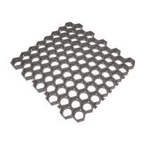 Griglia salvaprato 56 x 60  cm x 40  mm grigio