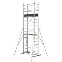 Trabattello Easyclip 6 in alluminio, per lavori fino a 5,8 m