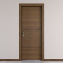 Porta da interno battente Stenophylla Cacao 60 x H 210 cm reversibile