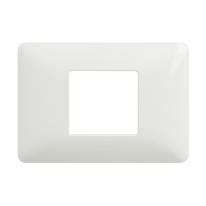 Placca 2 moduli BTicino Matix bianco