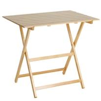 Tavolo pieghevole King, 80 x 60 cm faggio