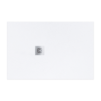 Piatto doccia resina Logic 120 x 90 cm bianco