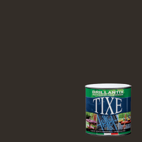 Smalto per ferro antiruggine Tixe Brillantix marrone brillante 0,5 L