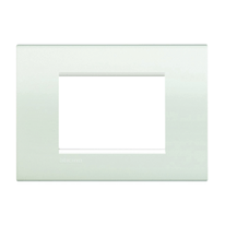 Placca 3 moduli BTicino Livinglight bianco