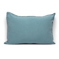 Cuscino Lina azzurro 40 x 60 cm