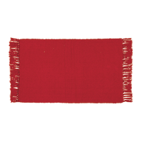 Tappetino cucina Basic rosso 50 x 80 cm