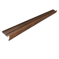 Frontalino polivalente terracotta anticato in polimglass 24 x 13,5  cm, spessore 3 mm