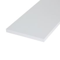 Pannello melaminico bianco 18 x 400 x 1200 mm