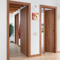 Porta da interno battente Schubert 80 x H 210 cm reversibile