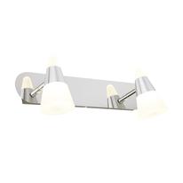 Barra a 2 luci Inspire Eviz cromo LED integrato