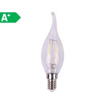 Lampadina LED Lexman Filamento E14 =25W colpo di vento luce fredda 360°