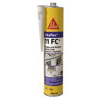 Sigillante poliuretanico Sikaflex 11 FC+ grigio Sika 300 ml, per cemento, vetri, metallo