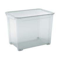 Scatola T Box XL L 55,5 x P 39 x H 42,5 cm trasparente