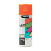 Smalto spray Fluo Luxens arancio fluorescente 400 ml