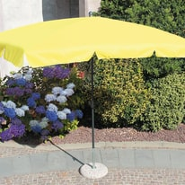 Ombrellone 2,6 x 1,5 m giallo