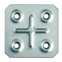 Piastra quadrata 45 x 45 mm