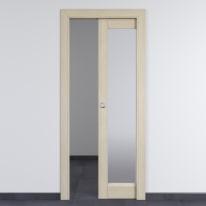 Porta da interno scorrevole Shaula paglia 70 x H 210 cm reversibile