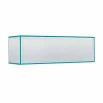 Rettangolo Kubo R trasparente L 58 x P 18, sp 0,8 cm
