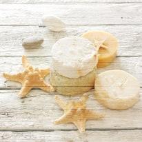 Quadro in legno Bath soap 50x50